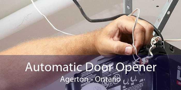 Automatic Door Opener Agerton - Ontario