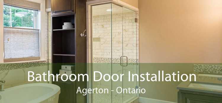 Bathroom Door Installation Agerton - Ontario