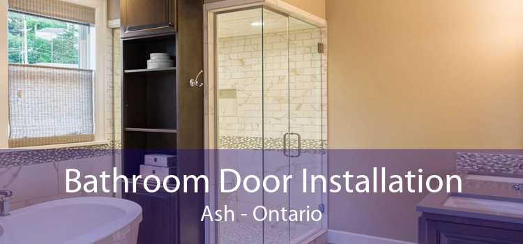 Bathroom Door Installation Ash - Ontario