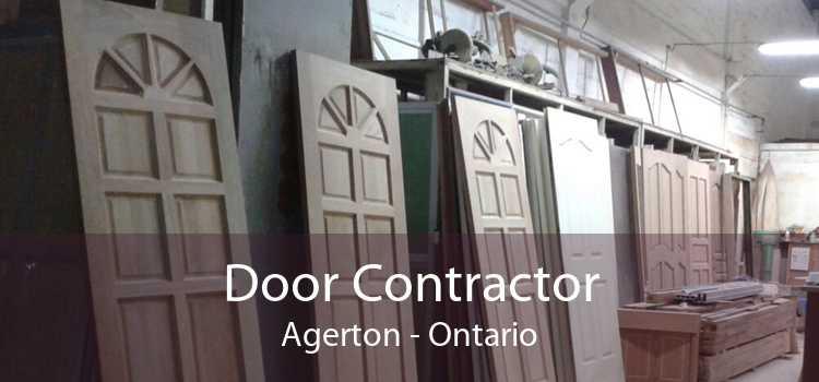 Door Contractor Agerton - Ontario
