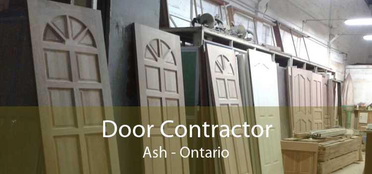 Door Contractor Ash - Ontario