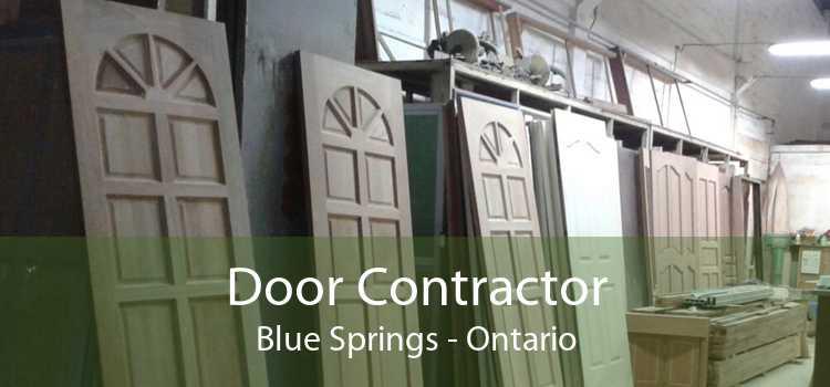 Door Contractor Blue Springs - Ontario