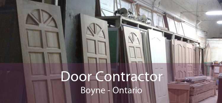 Door Contractor Boyne - Ontario