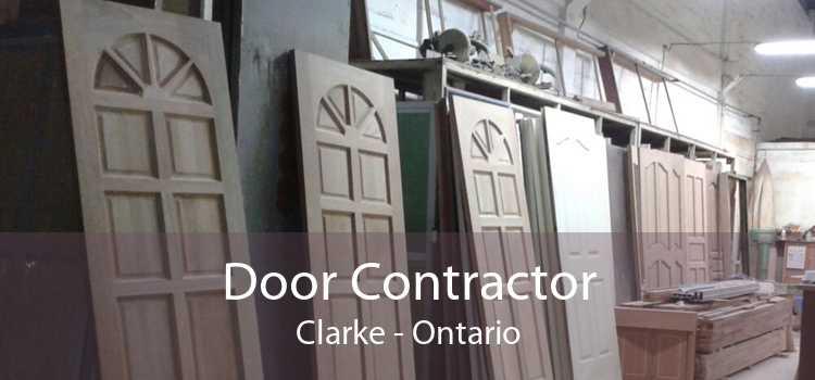 Door Contractor Clarke - Ontario