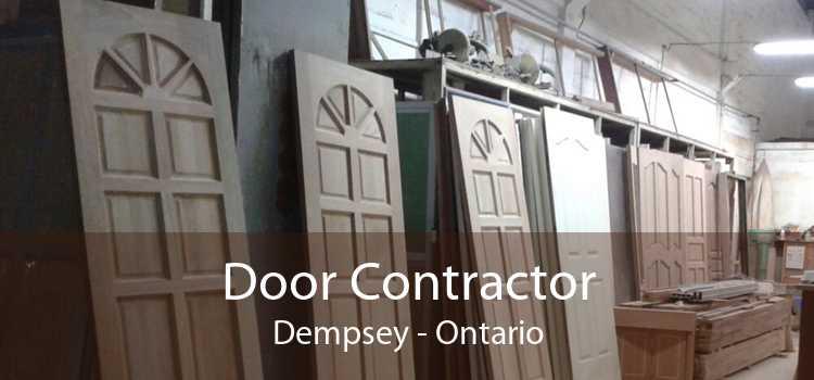 Door Contractor Dempsey - Ontario