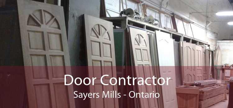 Door Contractor Sayers Mills - Ontario