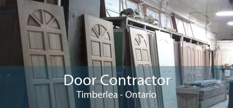 Door Contractor Timberlea - Ontario
