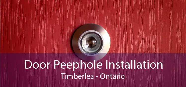 Door Peephole Installation Timberlea - Ontario