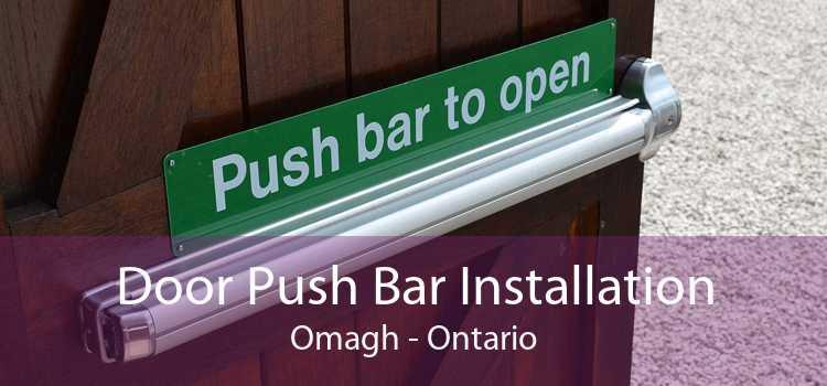 Door Push Bar Installation Omagh - Ontario