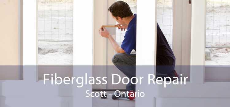Fiberglass Door Repair Scott - Ontario