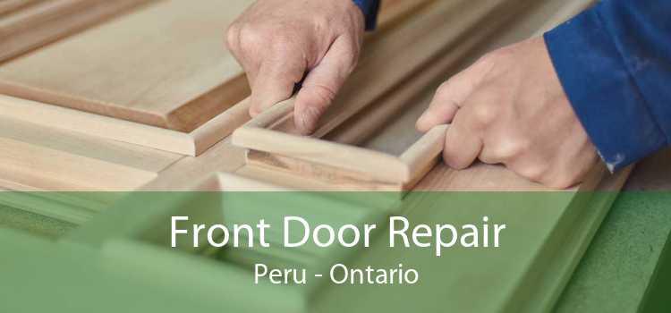 Front Door Repair Peru - Ontario