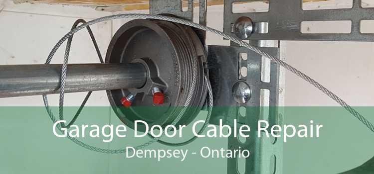 Garage Door Cable Repair Dempsey - Ontario
