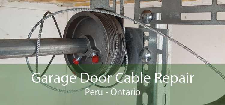 Garage Door Cable Repair Peru - Ontario