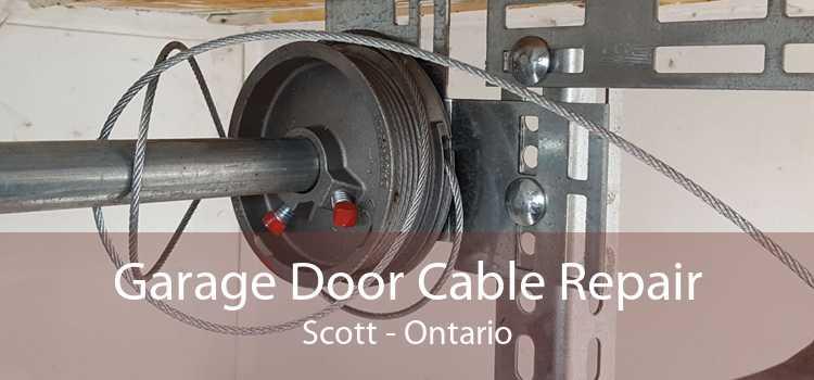 Garage Door Cable Repair Scott - Ontario