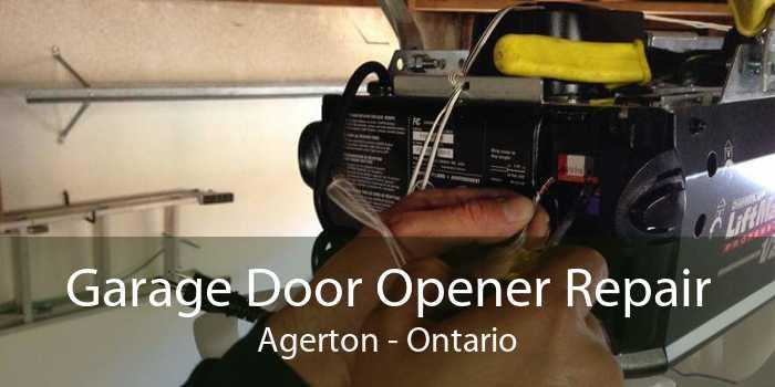 Garage Door Opener Repair Agerton - Ontario