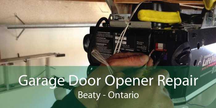 Garage Door Opener Repair Beaty - Ontario