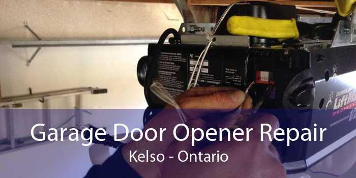 Garage Door Opener Repair Kelso - Ontario