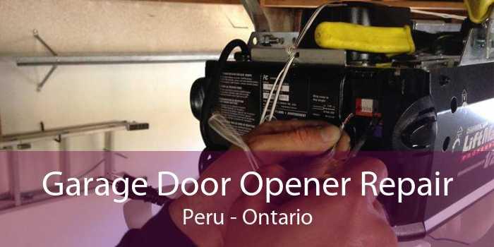 Garage Door Opener Repair Peru - Ontario