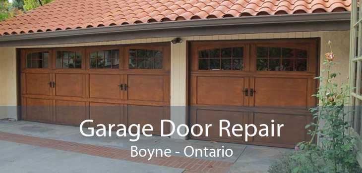 Garage Door Repair Boyne - Ontario