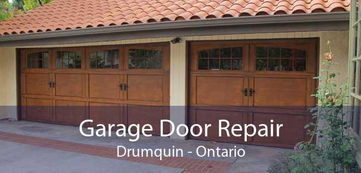 Garage Door Repair Drumquin - Ontario