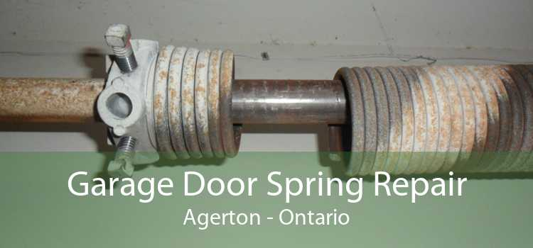 Garage Door Spring Repair Agerton - Ontario