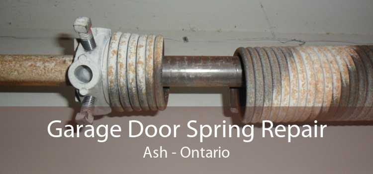 Garage Door Spring Repair Ash - Ontario