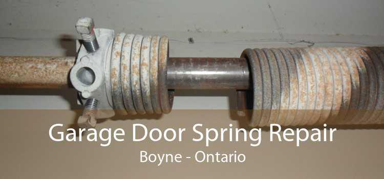 Garage Door Spring Repair Boyne - Ontario
