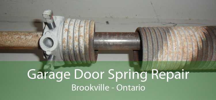 Garage Door Spring Repair Brookville - Ontario