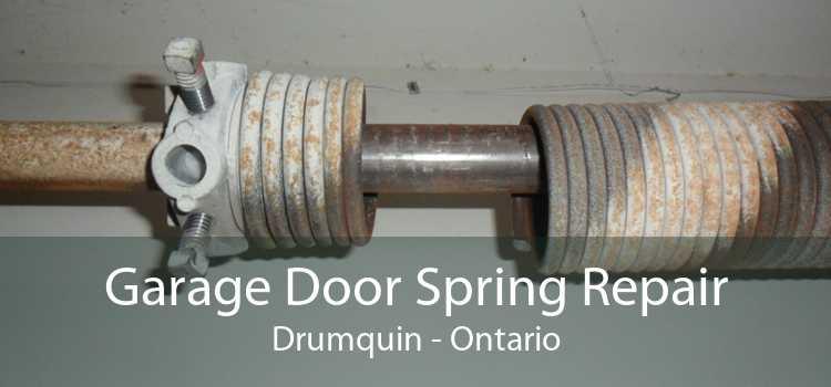 Garage Door Spring Repair Drumquin - Ontario