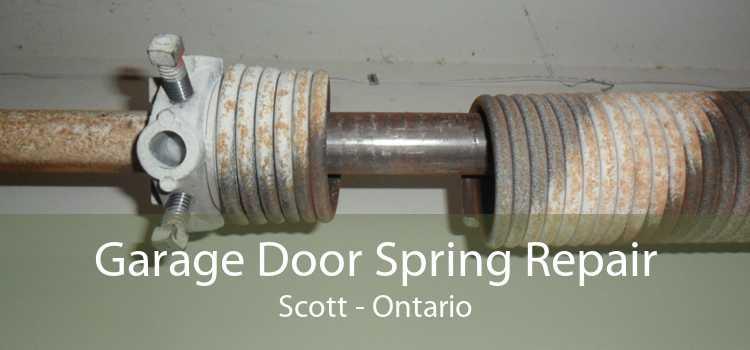 Garage Door Spring Repair Scott - Ontario