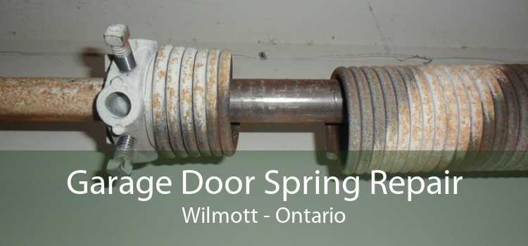 Garage Door Spring Repair Wilmott - Ontario