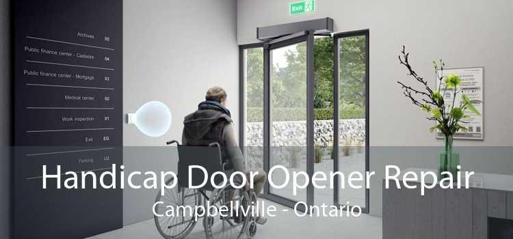 Handicap Door Opener Repair Campbellville - Ontario