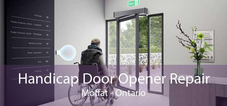 Handicap Door Opener Repair Moffat - Ontario