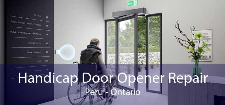 Handicap Door Opener Repair Peru - Ontario