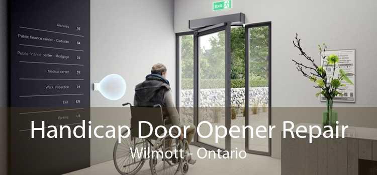 Handicap Door Opener Repair Wilmott - Ontario