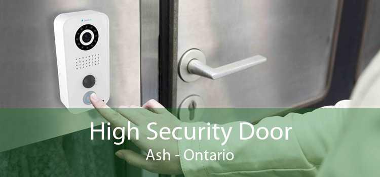 High Security Door Ash - Ontario
