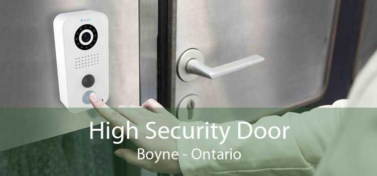 High Security Door Boyne - Ontario