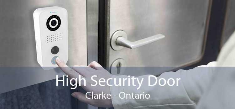 High Security Door Clarke - Ontario