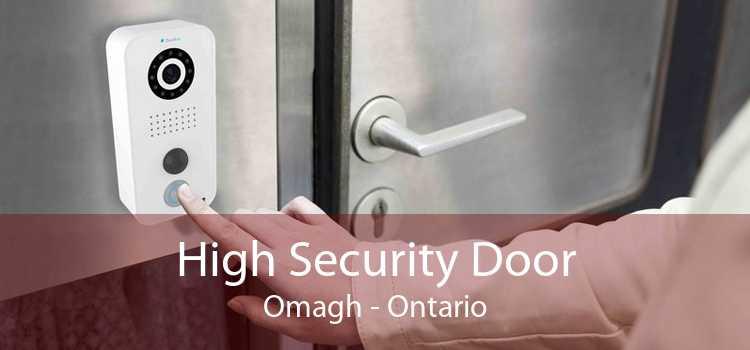 High Security Door Omagh - Ontario