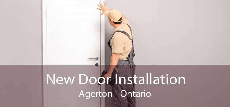 New Door Installation Agerton - Ontario