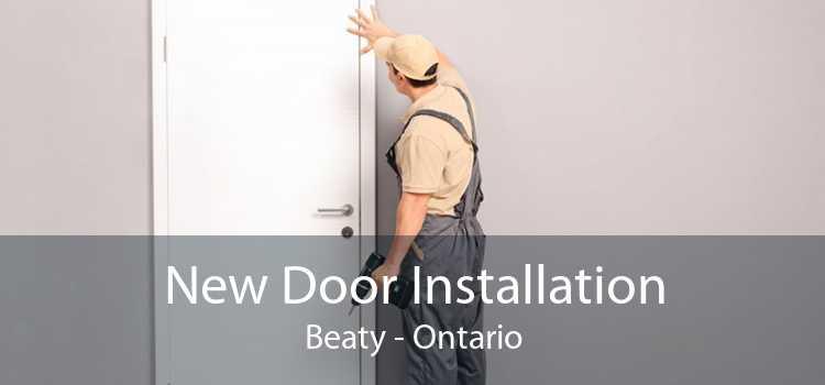 New Door Installation Beaty - Ontario