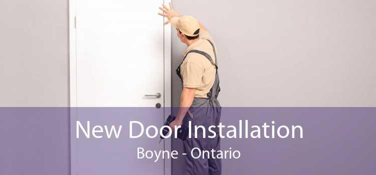 New Door Installation Boyne - Ontario