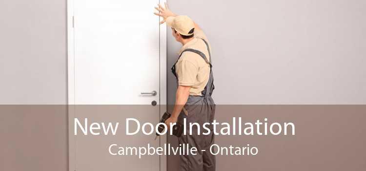 New Door Installation Campbellville - Ontario