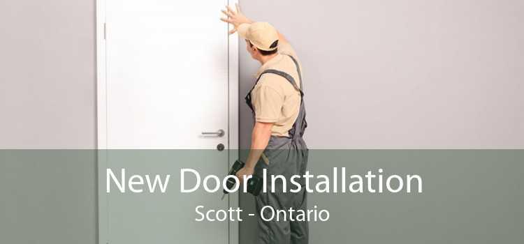New Door Installation Scott - Ontario