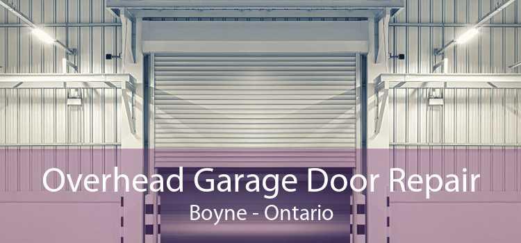 Overhead Garage Door Repair Boyne - Ontario