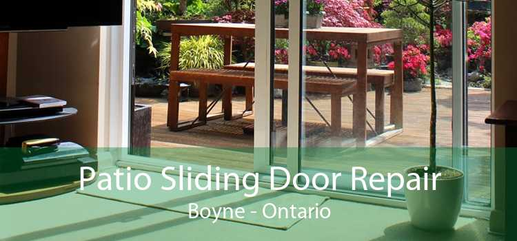 Patio Sliding Door Repair Boyne - Ontario