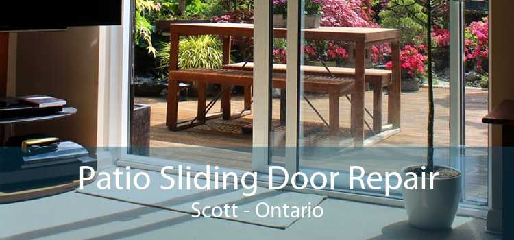 Patio Sliding Door Repair Scott - Ontario