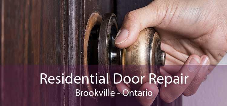 Residential Door Repair Brookville - Ontario