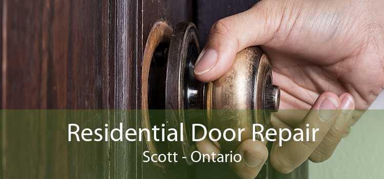 Residential Door Repair Scott - Ontario