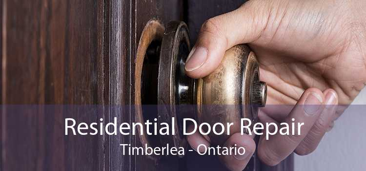 Residential Door Repair Timberlea - Ontario
